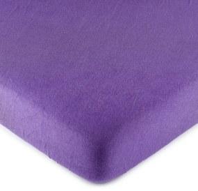 Cearşaf 4Home jersey, violet, 90 x 200 cm, 90 x 200 cm