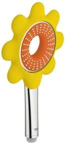 Para de dus Grohe Rainshower Icon 100, diamentru 100 mm, DreamSpray, anti-calcar, Portocaliu