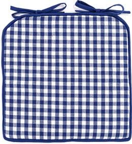 Pernă Cub, albastru, 40 x 40 cm