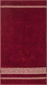 Prosop Atena, bordo, 50 x 90 cm