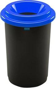 Coș de sortare deșeuri Aldotrade Eco Bin, 50 l, albastru