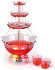 OneConcept Fântână de băuturi Proseccano Party 3L, LED