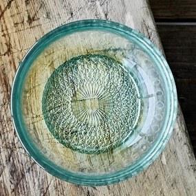 Bol din Sticla Verde - Sticla Verde Diametru(12 cm)