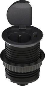 Solight PP122 - Priză USB încorporată cu capac 230V