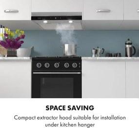 Klarstein Contempo Neo, hota de bucătărie subcounter 60cm, 175m³ / h, LED, din oțel inoxidabil acrilic