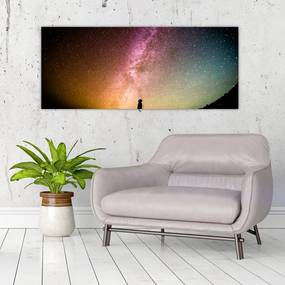 Tablou - cerul plin de stele (70x50 cm), în 40 de alte dimensiuni noi