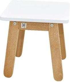 Scaun pentru copii BELLAMY Woody, alb