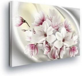 GLIX Tablou - Magic Pink Bouquet III 100x75 cm