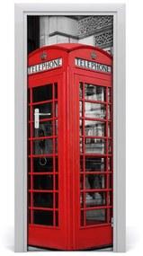 Autocolante pentru usi UȘĂ cabina telefonică autoadeziv