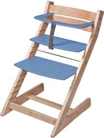 Scaun reglabil pe inaltime pentru copii – Unizo Albastru