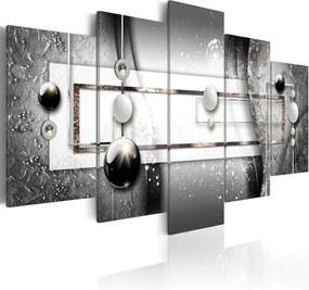 Tablou - Grey Symmetry 100x50 cm