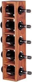 Suport din lemn masiv de palisandru pentru sticlele de vin Skyport Brisa