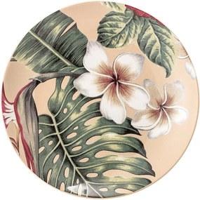 Farfurie din ceramică Bloomingville Aruba Jungle, ⌀ 20 cm