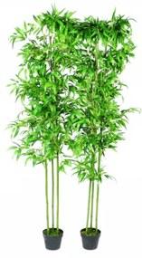 Set 2 Plante Bambus Artificiale Decoratiune Casa 190 cm