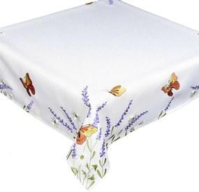 Față de masă Fluturi și lavandă, 40 x 90 cm, 40 x 90 cm