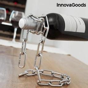 Suport lant pentru sticle, InnovaGoods Kitchen Sommelier, metal, 14 x 19 x 18 cm