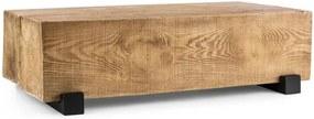 Blumfeldt BLOCKHOUSE LOUNGE, masă tip grindă pentru grădină, 120x30x60 cm