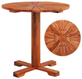 44037 vidaXL Masă de bistro, 70 x 70 cm, lemn masiv de acacia
