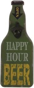 Deschizător capace sticle pentru perete Geese Bottle Opener, verde