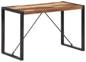 321539 vidaXL Masă de sufragerie, 120x60x75 cm, lemn masiv finisaj sheesham