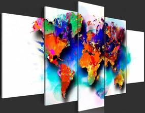 Tablou Bimago - Picturesque World 100x50 cm