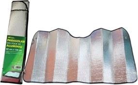 Parasolar folie aluminiu 2 fete, 60 cm x 130 cm