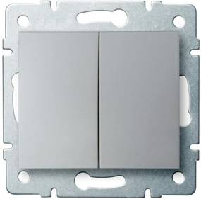 Kanlux Logi 25185 Comutator de candelabre argintiu
