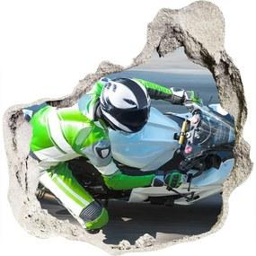 Autocolant autoadeziv gaură Cursă de motociclete