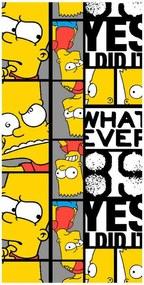 Prosop pentru copii Bart THE SIMPSONS, 70 x 140
