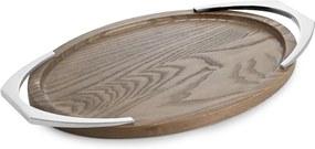 Tavă ovală cu mânere