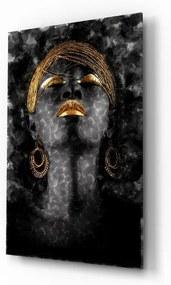 Tablou din sticlă Insigne Magic Woman