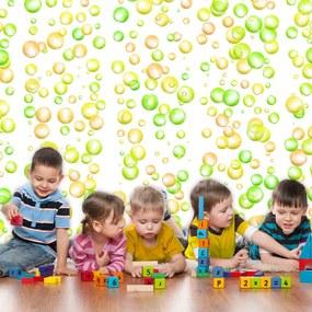 Tapet Bimago -  Fun Bubbles + Adeziv gratuit rulou 50x1000 cm