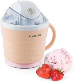 Klarstein Ice Ice Cream Maker Pat de 0.75 l Henkel 7.3-9.5 W crema de portocale