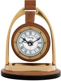 Ceas pentru birou Bailey Equestrian Brown