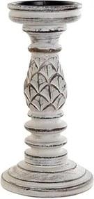 Sfesnic Antique White din lemn 25 cm