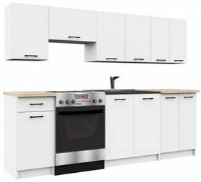 Expedo Set de bucătărie KOSTA, alb/sonoma, 240