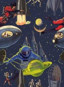 MINDTHEGAP Tapet - Intergalactic