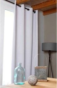 Draperie groasă OSLO albă 140 x 260 cm 1 buc