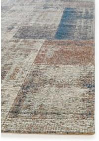 Covor Frencie Flat Weave, Bej/Albastru - 120x180 cm