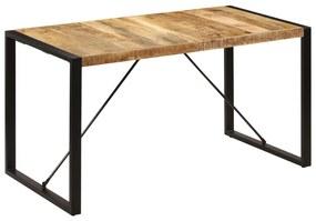 247420 vidaXL Masă de bucătărie, 140x70x75 cm, lemn masiv de mango