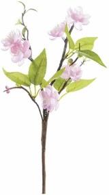 Crenguta floare artificiala piersic 28 cm