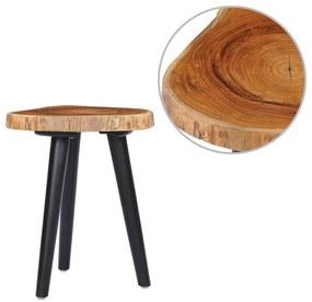 281650 vidaXL Măsuță de cafea, 40 x 45 cm, lemn masiv de tec