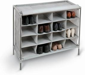 Pantofar cu 16 compartimente Domopak Living