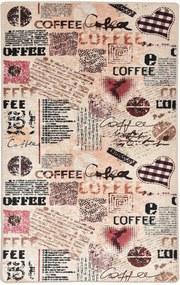 Covor pentru bucatarie Coffee DJT - 80x150 cm