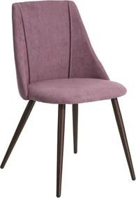 Scaun roz cu picioare din metal Stay Ixia