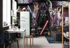 Komar Fototapet - STAR WARS Darth Vader Collage