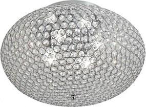 Plafonieră Incanti LILAS cu dispersor cu cristale octogonale încastrate