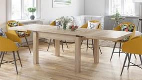 ROYAL Stejar Sonoma, MESE DE BUCĂTĂRIE, masă pliabilă pentru 8 persoane