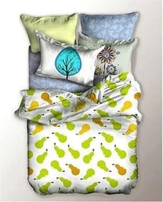 Lenjerie de pat din microfibră pentru pat de 1 persoană DecoKing Fruits, 155 x 220 cm