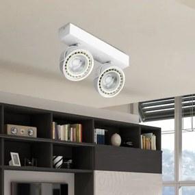 AZzardo Jerry 2 White LED LL110152+GM4205WH